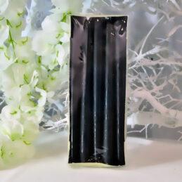 Cone Candle - Candele a cono Colore nero - Confezione Piccola