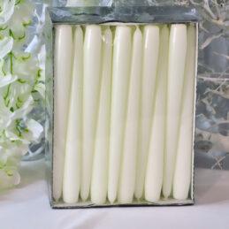 Cone Candle - Candele a cono Colore Bianco