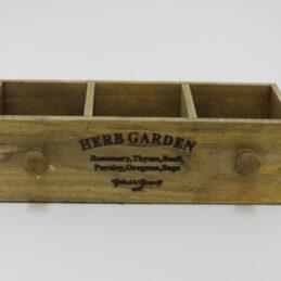 Box portafiori in legno 66620