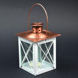 Lanterna in metallo e rame