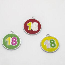 Gadget Pendente Compleanno Diciotto Anni
