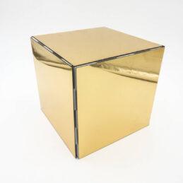 Cubo Specchio Oro Componibile