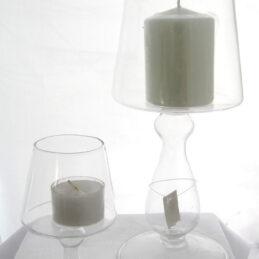 Portacandela vetro