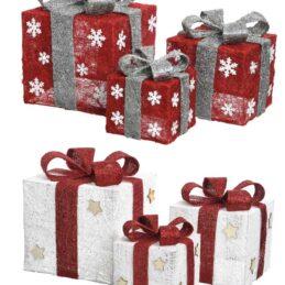 Scatola regalo decorativa set3/pz