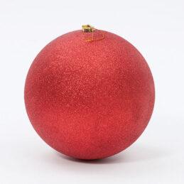 Sfera natalizia glitterata