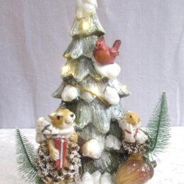 Albero natalizio con luci led