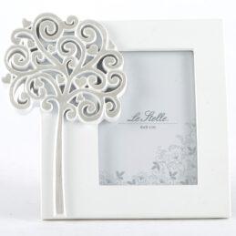 Bomboniera cornice portafoto con albero della vita