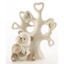 Bomboniera orsetto con albero della vitaBomboniera orsetto con albero della vita
