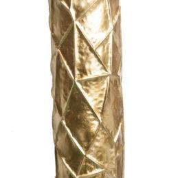Struttura ornamentale in metallo oro per addobbi e allestimenti esterni ed interni